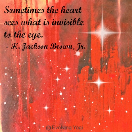 The Heart Sees